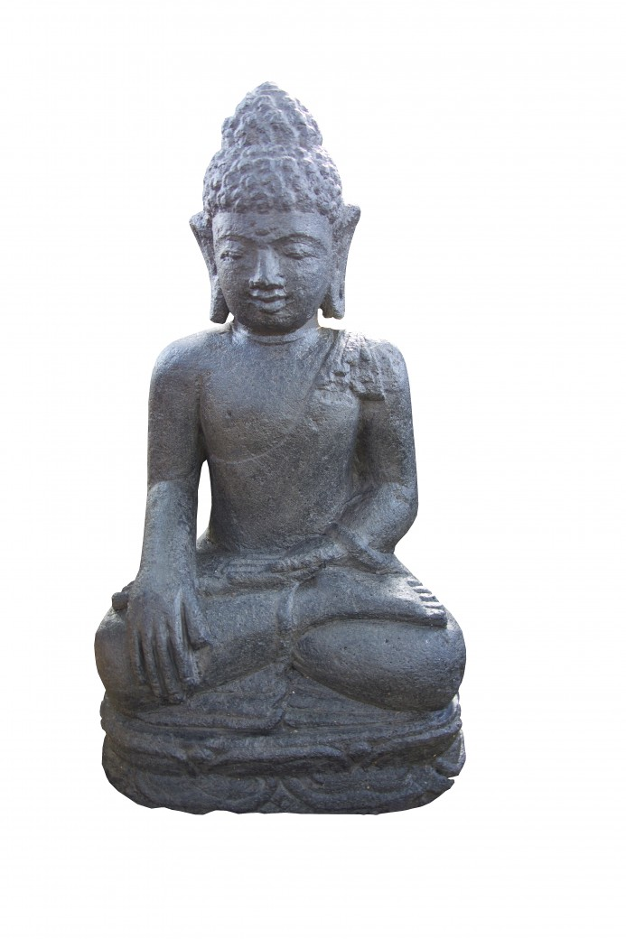 buddha figur 40 steinfiguren figuren home of lifestyle. Black Bedroom Furniture Sets. Home Design Ideas